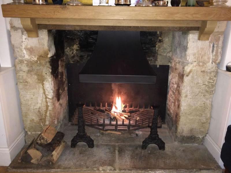 Wooden Open Fires | Open Fires | Custom Fireplace