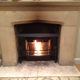 Stone Surround Bespoke Open Fire