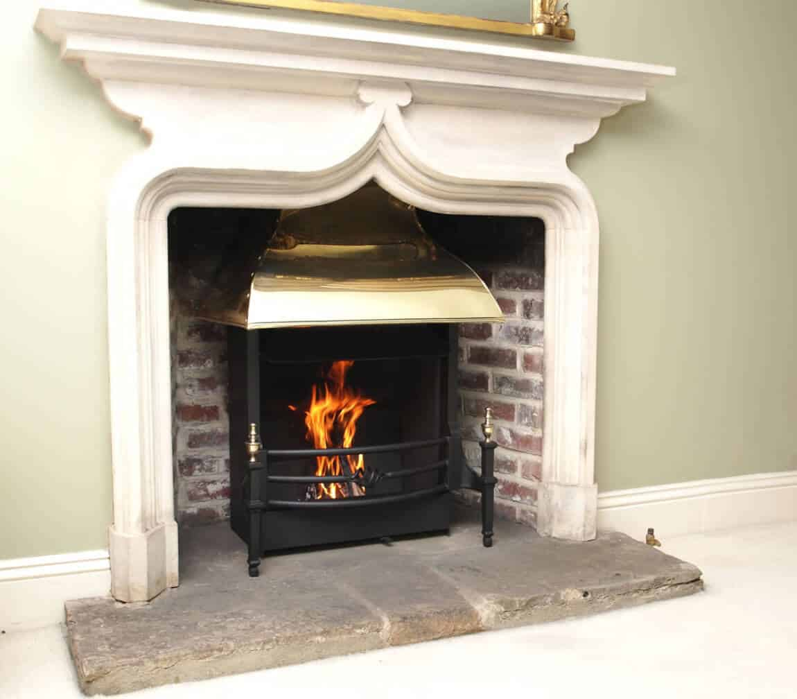 the best traditional open fireplaces camelot real fires