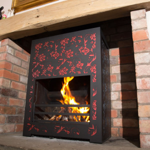 High Performance Wood Burning Open Fires