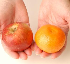 apples oranges large