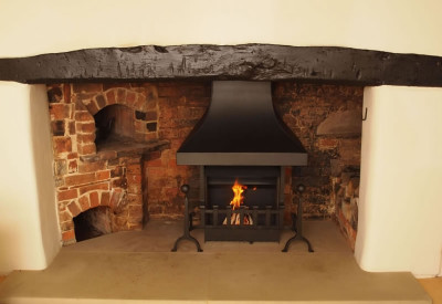 Our Thermovent Woodburning Open Fire