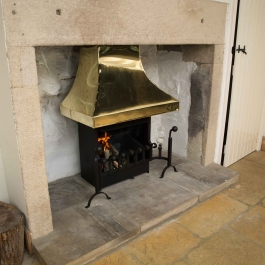 Polished Brass Canopy Hood 3