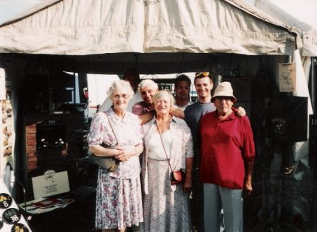 Shaw family at Game Fair 1995 large