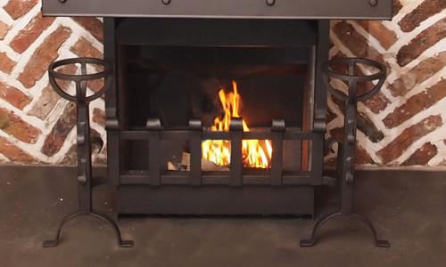 handmade open fires